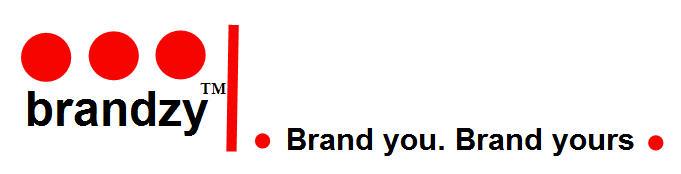 Brandzy logo & slogan